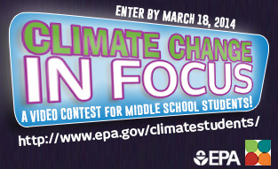 Climate in Focus contest badge