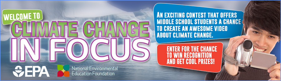 Climate in Focus Student Video Contest