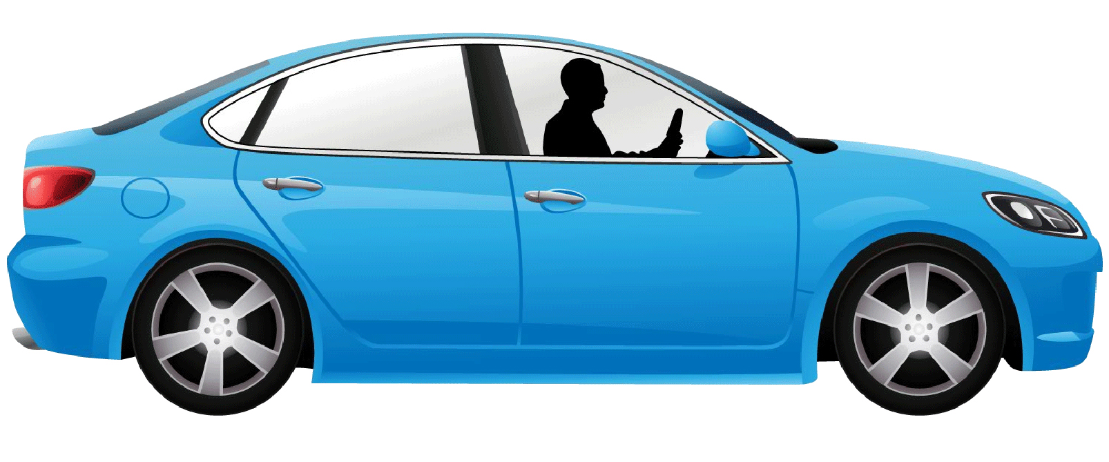 Driver inside Car