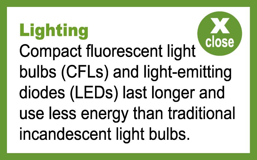 Lighting popup information