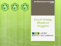 Duluth Energy Efficiency Program