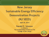 New Jersey Sustainable Energy Efficiency