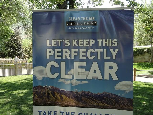 Clean the Air Challenge poster
