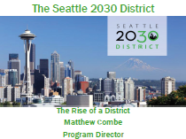 The Seattle 2030 District