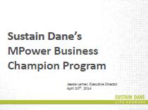 Sustain Dane's MPower Business