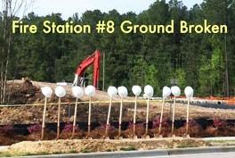 Fire Station 8 Groundbreaking