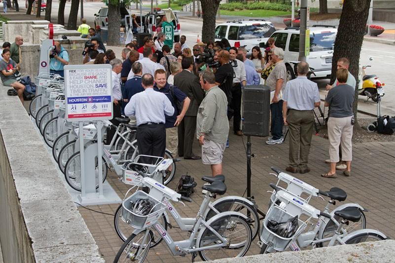 Houston b-cycle group