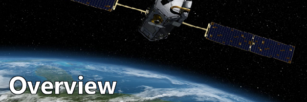 Orbiting Carbon Observatory above earth