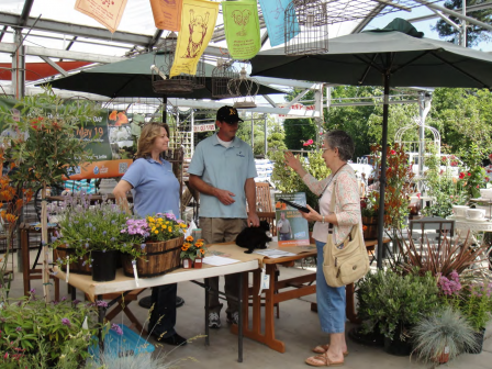 Green Gardener Day at Fair Oaks Boulevard Nursery