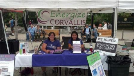 Neighborhood Sustainability Steward volunteers