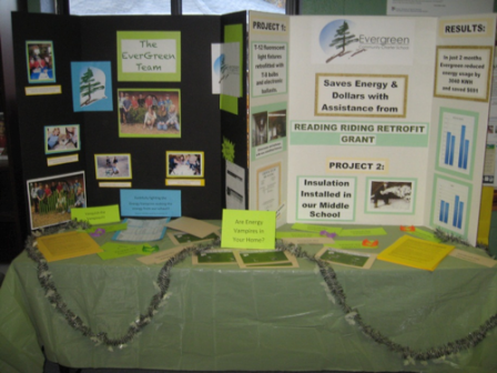 Evergreen's Green Team Display