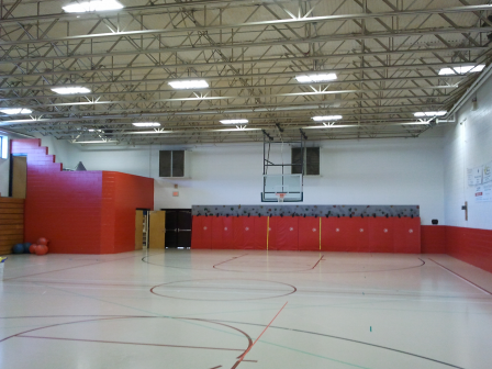Buncombe County School Fairview Elementary gym