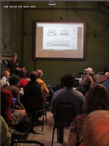 Dan Chiras gives a talk at the Durango Discovery Museum