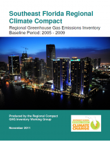 Southeast Florida Regional Climate Change Compact's greenhouse gas inventory