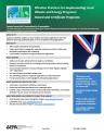 Award and Certificate Programs