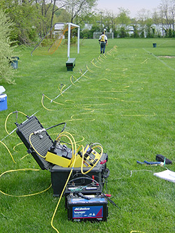 Image result for wenner vertical electrical sounding the field