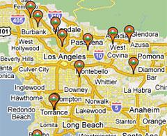 Sothern California Map La Habra Ca.Superfund Region 9 Southern California Us Epa
