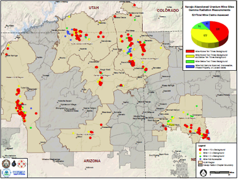 Navajo Reservation Arizona Map.Addressing Uranium Contamination On The Navajo Nation Superfund