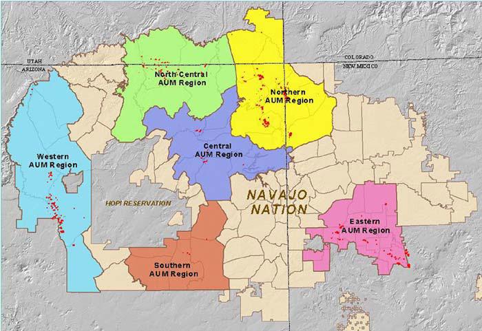 Navajo Reservation Arizona Map.2007 Successes Protecting Tribal Lands Region 9 Tribal Program