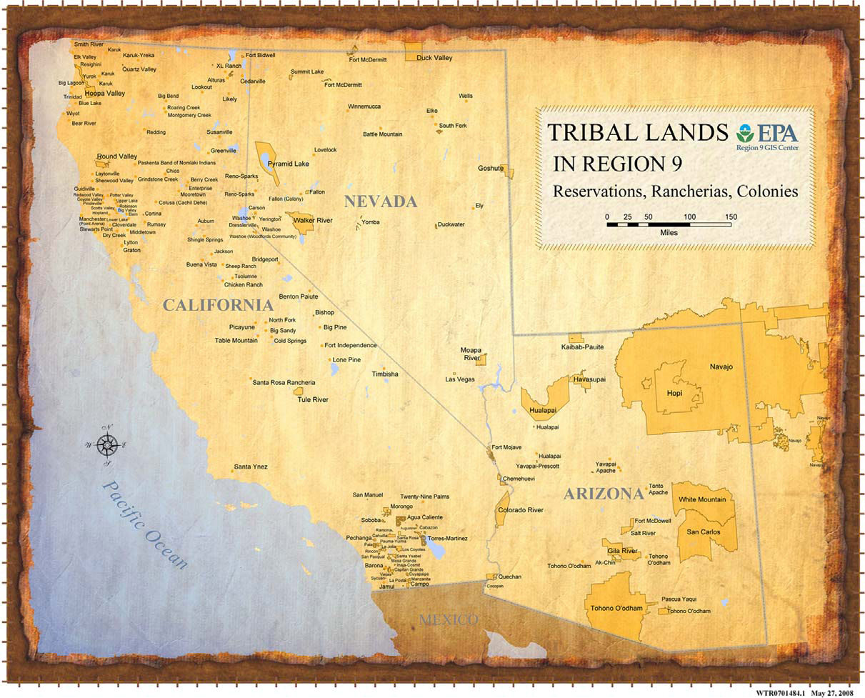 The Summit Reno >> 2007 Successes: Region 9 Tribal Program Office | Region 9 ...
