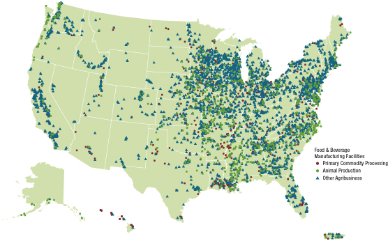 Location of U.S. Facilities | Agribusiness | Sector Information ...